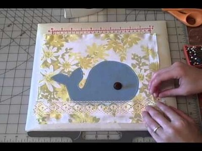 Personalizing a Reusable Tote- Whitney Sews