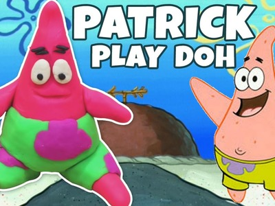 Play Doh Patrick Star from Spongebob Squarepants | DIY Popular Play Doh Creation | Hooplakidz How To