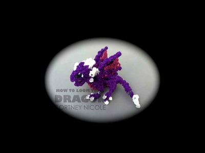 Rainbow Loom Cynder the Dragon (From Spyro the Dragon)