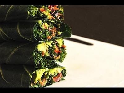 Raw Vegan Recipe - Bodybuilding Burrito
