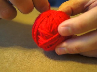 Rolling Yarn and Talking About The Day - ASMR
