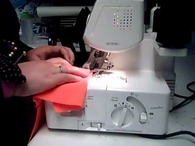 Sewing Modest Swimwear with a Serger Pt 4