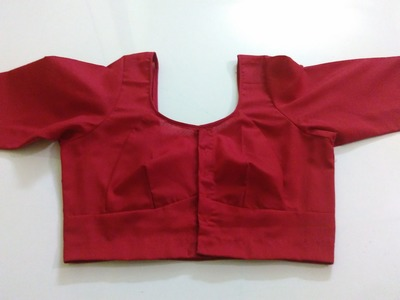 Single Katori Blouse Measurement Paper cutting and Stitching Part 4