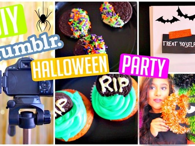 Throw a DIY Halloween Party! | DIY Treats, Photo Booth & Inspiration!