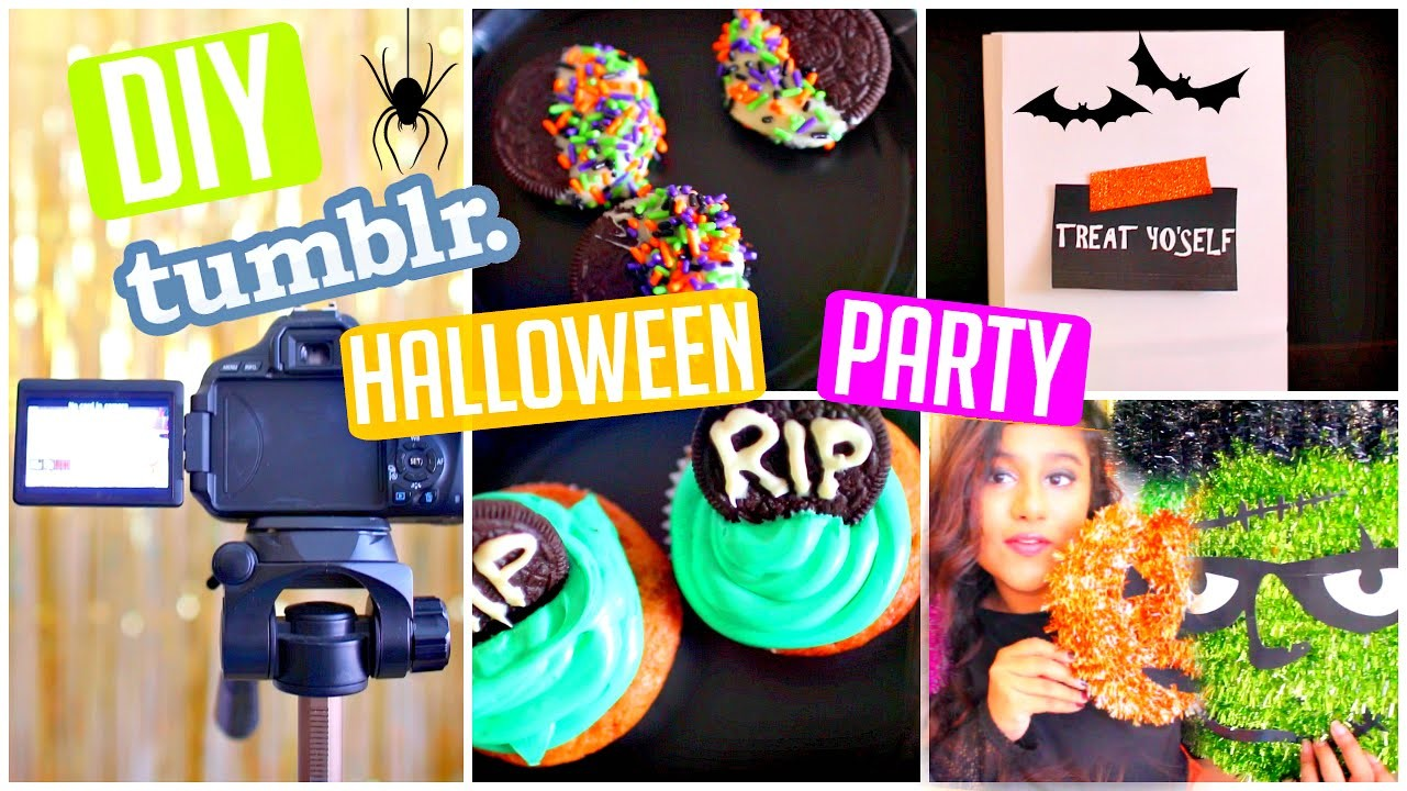 Throw a DIY Halloween Party! | DIY Treats, Photo Booth & Inspiration!