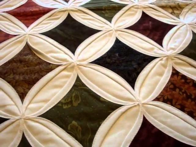 Amish Quilted Cathedral Table Runner