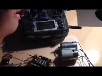Arduino Pro Mini based DIY brushed ESC