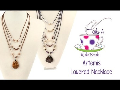 Artemis Necklace Tutorial | Take A Make Break with Sarah ♡