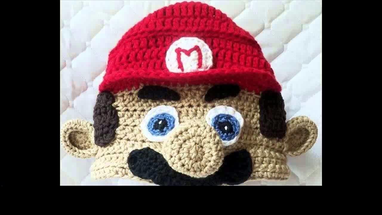 Crochet beanie brim