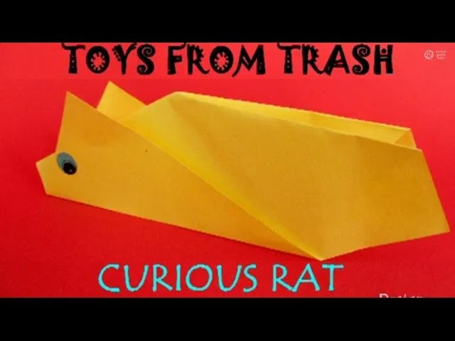 CURIOUS RAT - MALAYALAM - Moving paper mouse!