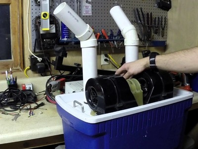 DIY 12 volt Air conditioner