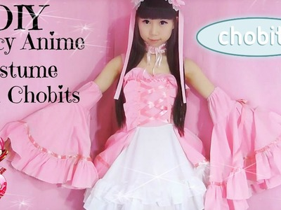 DIY Fancy Anime Cosplay Costume | How to Make Chobits Costume