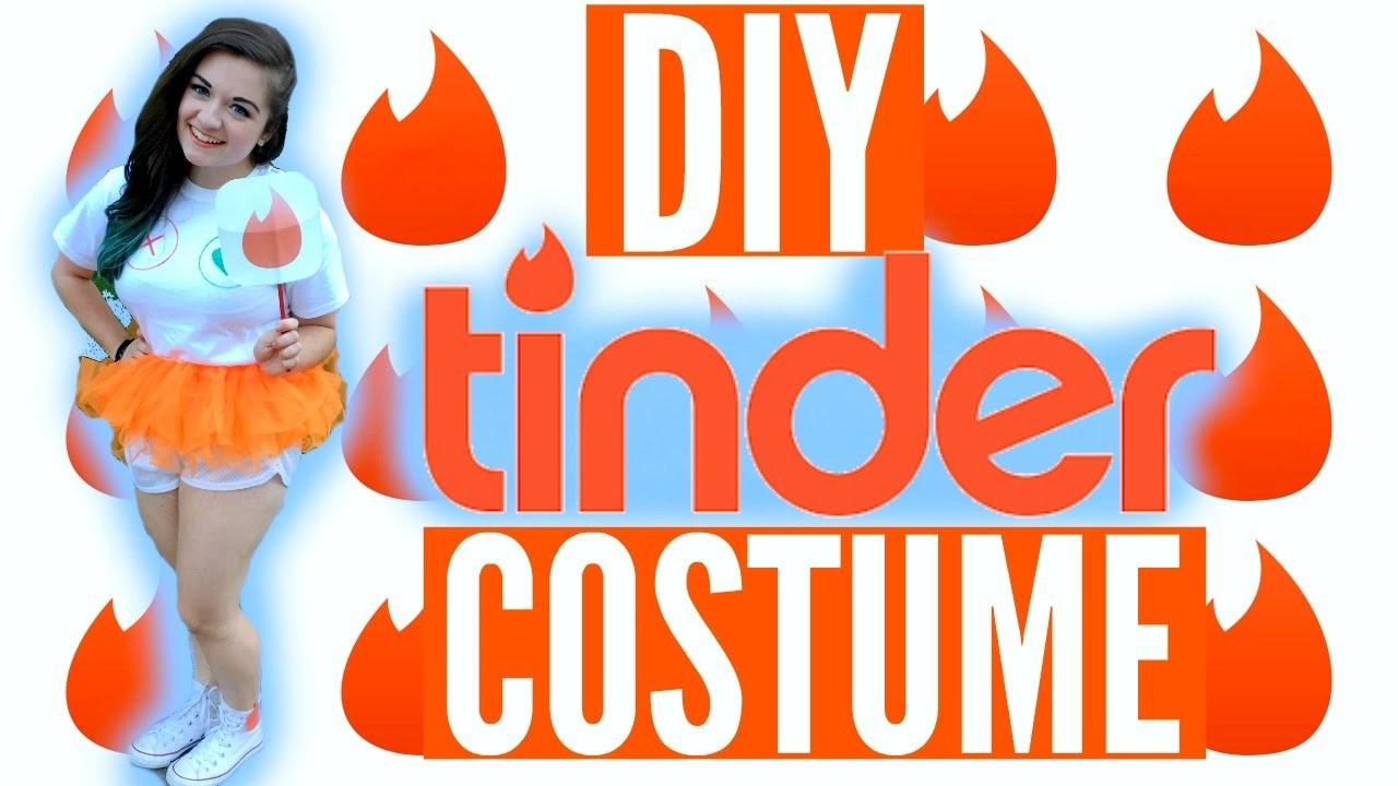 DIY TINDER HALLOWEEN COSTUME! | Be Tinder for Halloween!