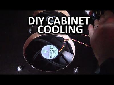 Entertainment Center Cooling Mod - Linus DIY Method