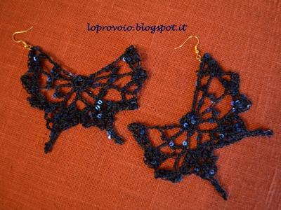 Farfalla all'uncinetto - DIY
