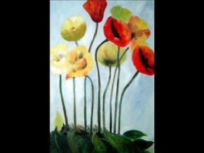 Flower Oil Paintings - BeyondDream Art