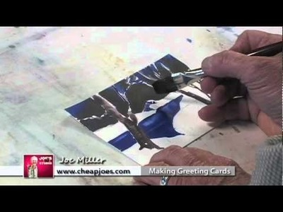 Goof Proof Watercolor Greeting Cards with Joe Miller: Part 1
