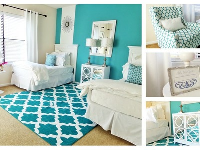 Guest Bedroom Tour: One Room Two Beds