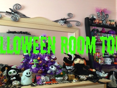 Halloween Decor Room Tour 2015 | Halloween Craft Series #3