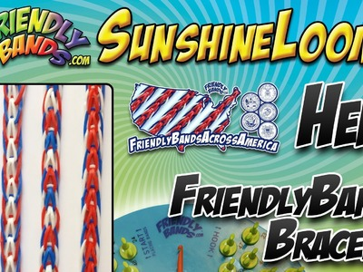 HERO FriendlyBands Bracelet - SunshineLoom How-To Video