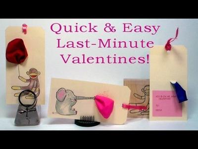 Last minute classroom valentines