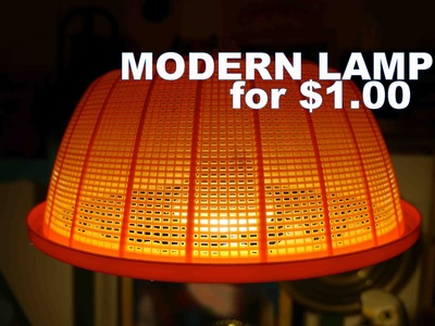 Make this Mid-Century Modern Hanging Lamp.Light for $1.00