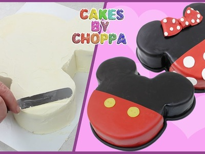 Mickey and Minnie Mouse Cake (How To)