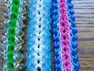 NEW Rainbow Loom Bamboo Bracelet