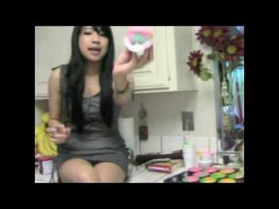 Rainbow Cupcakes.Tie-dye cupcakes Tutorial