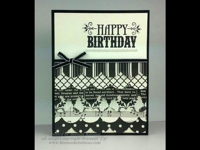 Scallop Layers Birthday Card