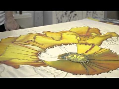 Silk Painting with Anne Anderson
