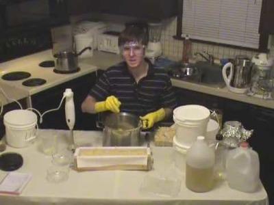 Soap Making Instructions - Tea Tree Oil Soap