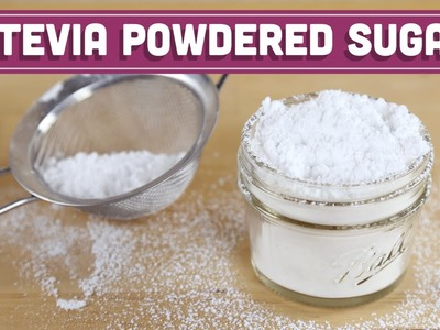 Sugar Free Powdered Sugar! 2 Ingredients! Mind Over Munch