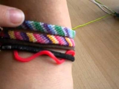 """Thick 6"" Friendship Bracelet"