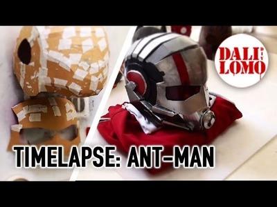 Timelapse - Making Ant-Man Costume Helmet in 6 minutes