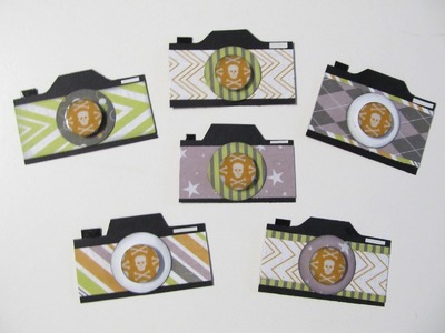 Tutorial~ Paper Camera Embellishment With & Without Punch Board