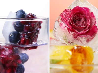 6 Summer Ice Cubes That'll Up Your Drink Game