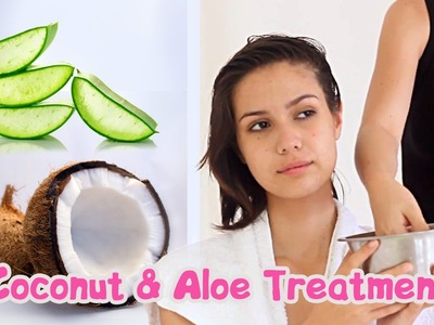 Coconut & Aloe Treatment - Easy To Make Face and Hair Treatment