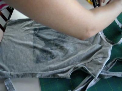 DIY Shirt Transformation I Custom T-shirt Printing at home