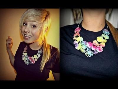 DIY:  Tie Dye Jewelry!