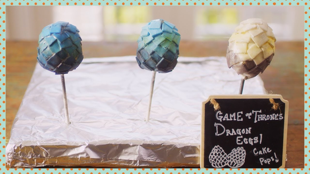Dragon Egg Cake Pops | Cooking