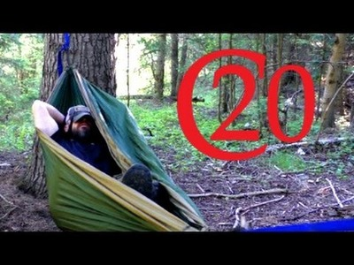 Easy Cheap DIY Hammock Suspension System