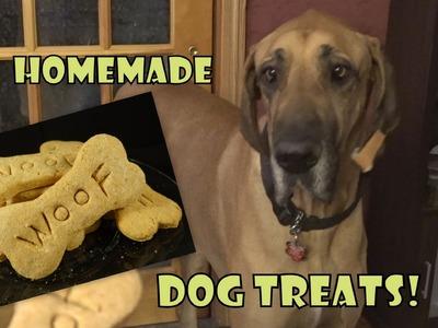 Homemade Dog Treats- with yoyomax12