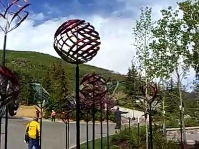 Kinetic Wind Sculptures - Vail Colorado