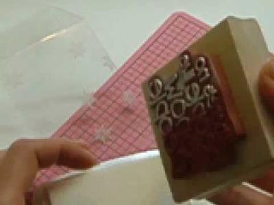 Ku-Ku CARD Snowman in a Box (Muñeco de Nieve en Caja) 1:1