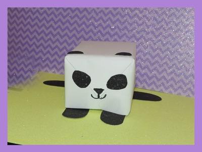 Panda Gift Box Idea
