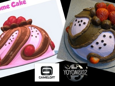 Pastry Paradise Pink Dome Cake- with Yoyomax12 and Gameloft!