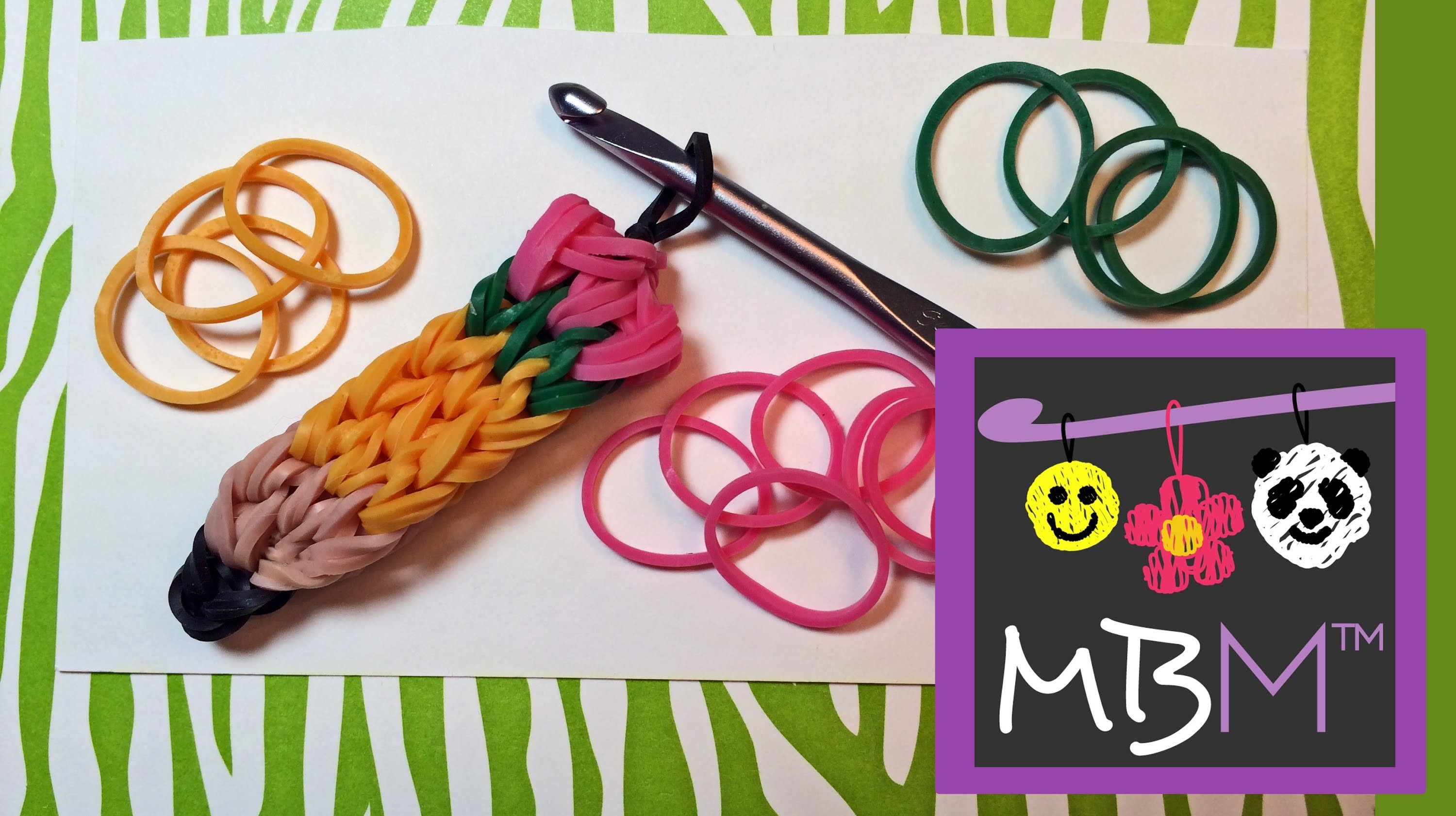 Pencil Charm Without a Rainbow Loom