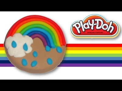 Play Doh Rainbow Cookie