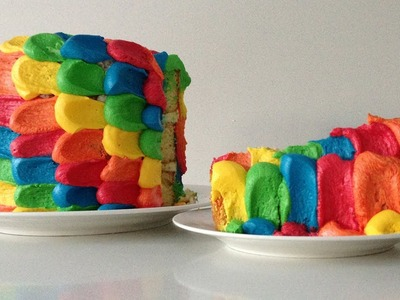 Rainbow Cake Decoration HOW TO Cook That Ann Reardon